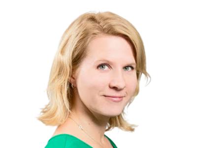 Markkinointipäällikkö Jenni Pekkinen:
